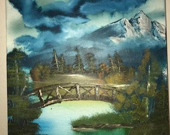 Rocky Mountains Bridge