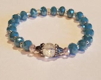 Aqua Ocean color Bracelet