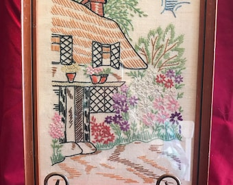 Vintage Out in the Country Cottage Sampler