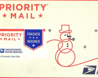 PRIORITY MAIL UPGRADE domestic shipments only