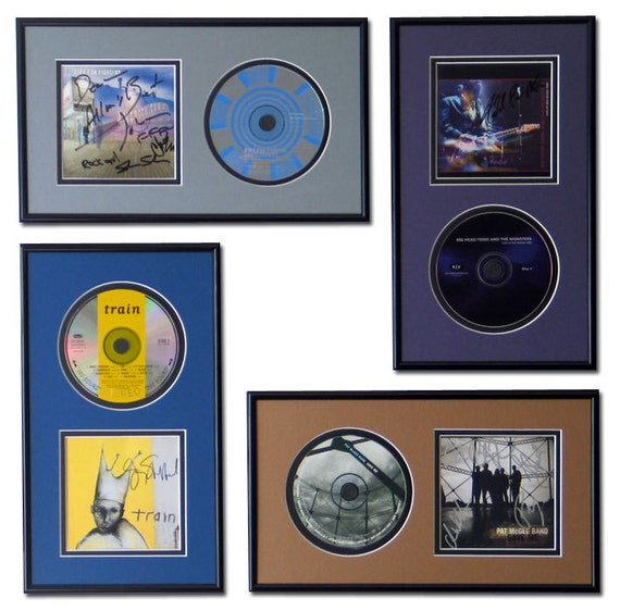 CD and Cover Art Display Frame - 11 Colors to Choose From from ...