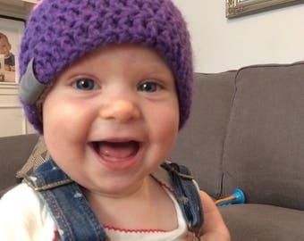 Bold Baby Bobble Beanie - Baby Girl - Baby Boy - Baby Gift - Baby Hat - Baby Beanie Hat - Beanie for Baby - Bobble Hat - Cosy