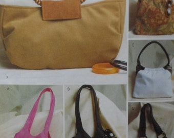 Handbag Sewing Pattern UNCUT Butterick B4088