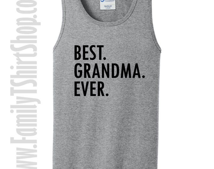 Best Grandma Ever Tank Top