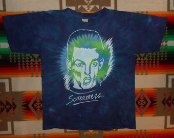 The Screamers Tie Dye T Shirt Size Large Germs Punk Rock