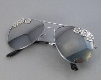 Pretty Flowers,Sunglasses,Glasses,Aviator,Aviator Sunglasses,Flower,Flower Sunglasses,Leaf,Leaf Sunglasses,Clubmaster,Vintage Style Sunglass