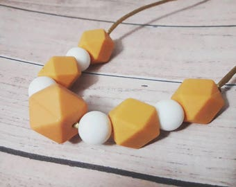 Breast-feeding necklace, teething necklace
