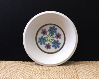 Dancing Flower. Mikasa floral soup bowl, 1970s.