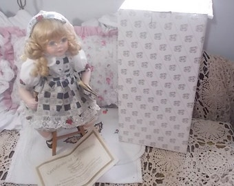 Vintage Doll, Heritage Signature Collection School Girl Emily, Doll, Collectible Doll, Heritage Signature Collection,School Girl Doll,  :)s