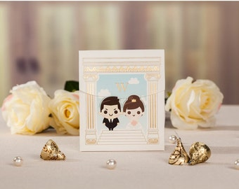 25pcs Unique Wedding Favor Boxes, ideal gift packaging at the wedding reception