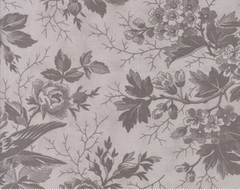 Feather Grey Tonal Quill Fabric - Moda - 3 Sisters - 44151 22