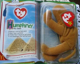 Camel, Stuffed Animal, Stuffed Camel, Ty Beanie Babies, Teenie Beanies, McDonald's Toy, Humphrey, Camel Toy