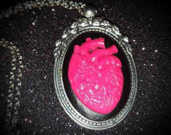 Gothic heart necklace