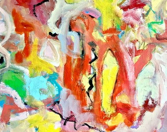 Original Abstract Painting on canvas, home decor, modern art