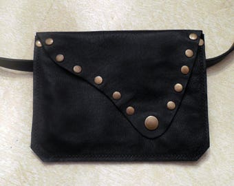 Leather Fanny or Belt Pouch