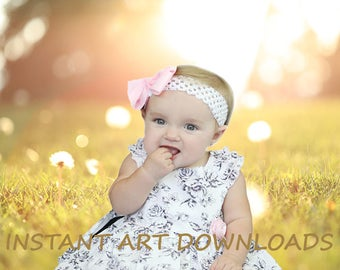 Dandelion Spring Nature Digital Download Photography 120 x 80 inches Large Background Backdrop For Studio Sunny Sunshine Yellow Colors