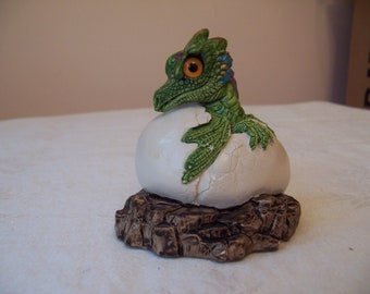 Vintage Windstone Editions Baby Dragon Hatchling - Melody Pena