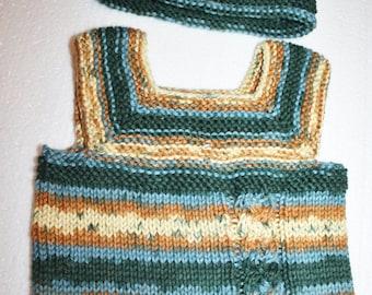 Pebble Beach Vest and Cap Set