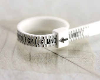 Ring sizer - know your size - Measure UK Ring Size   Check Ring Band Size   Multisizer   Ring Gauge