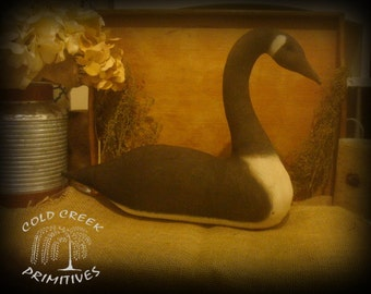 Primitive Canadian Goose