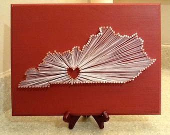 My Old Kentucky Home, State String Art