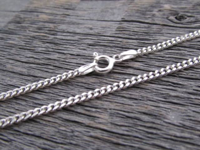 sterling chain cha beading teardrop components extenders necklace silver curb beadaholique inches with end extender