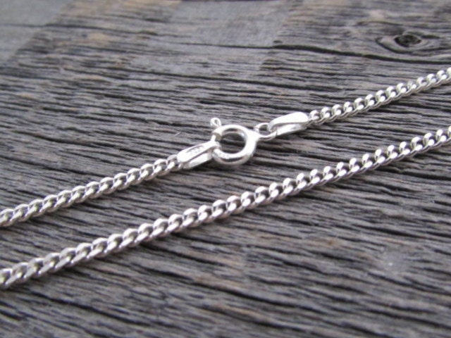 product chain products silver curb chains fine sterling thongs