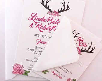 Wedding Invite & RSVP Sample