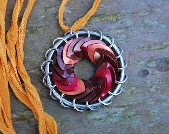 By the Fire Turbine Pendant Scalemaille