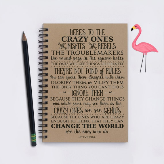 Heres To The Crazy Ones Steve Jobs Quote