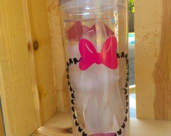 Customized Minnie Mouse Tumbler