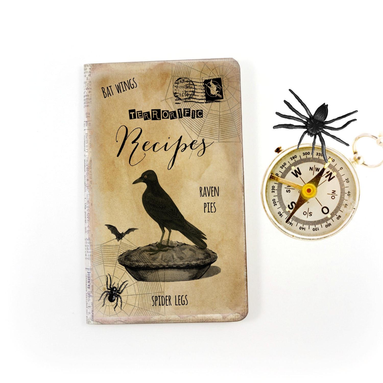 Halloween Rezept Journal Witchs Rezeptbuch Küche Hexe