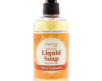 Natural Liquid Soap - Citrus Explosion