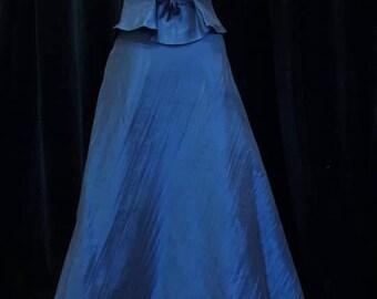 RETRO blue suit