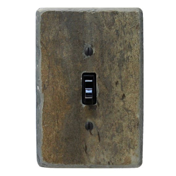 Vermont Slate Earth Tone Light Switch Covers Switch Plate