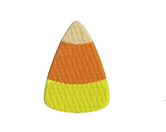 Halloween Fall Candy Corn Design Embroidery Fill Machine Instant Download Digital File EN2112F