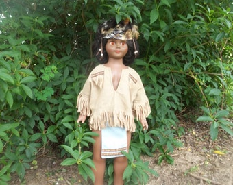 American Indian-Native American-size 12-18 mo- little warrior-Native american Wear-Native Regalia-pow-pow wear-dance wear-Halloween costume-