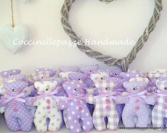 Teddy bears teddy bear-tilda-colors on request