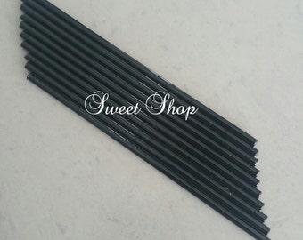 6 inch Black Sticks