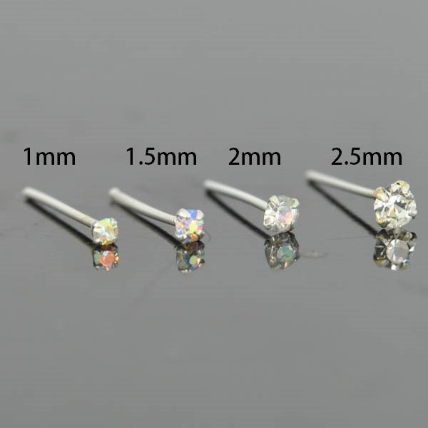 tiny studs real earrings white gold stud small diamond listing il