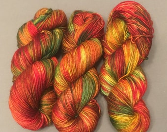 hand dyed sock yarn - Celtic