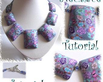 Focal bead necklace tutorial..