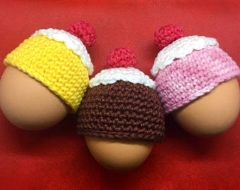 SINGLE PIECES Easter Egg Warmers Cupcake With Cherry On Top