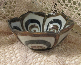 Vintage El Palomar Mexico Ken Edwards Pottery Bowl