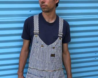 1950's Big Smith striped overalls