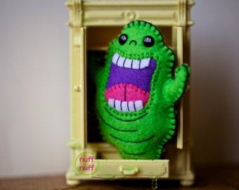 Felt Slimer - Ghostbusters - Pocket Plush Toy