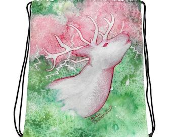 Stag Galaxy - Drawstring bag