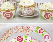 Tea Party Cupcake Toppers...