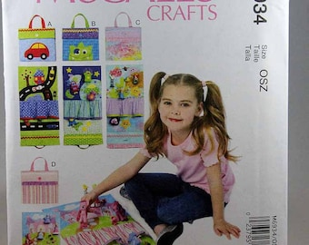 McCall's 6934, Travel Toy Mats Sewing Pattern, Uncut