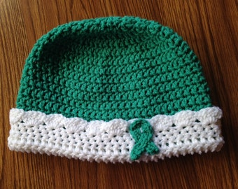 Ovarian Cancer Awareness Hat / Chemo Cap